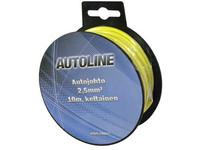 Autojohto 2,5mm2, 10m keltainen