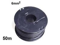 Autojohto 6mm2, 50m musta