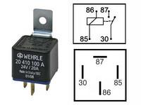 Kytkentärele 24v, 20A, 4-napainen