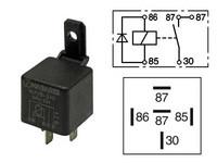 Kytkentärele 24V,5-napainen diodilla