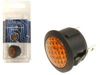LED-merkkivalo,20mm asennusreikään, keltainen