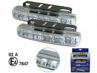 LED-päivävalosarja 12V 5xLED