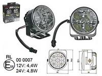 LED-päivävalosarja 12-24V, 4x1W led