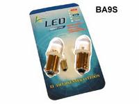 LED-polttimo 12v, BA9S valkoinen