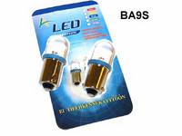 LED polttimo 12v, BA9S sininen