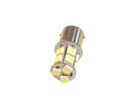 LED polttimo 12v BA15S , valkoinen