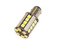 Polttimopari LED CAN kirkas/valkoinen BAY15d