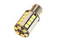 Polttimopari LED CAN kirkas/valkoinen BA15s