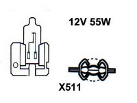 Polttimo 55W, X511