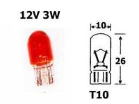 Polttimo Oranssi 3W, T10