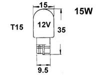 Polttimo 15W, T15