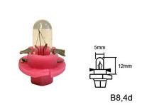 Polttimo, kanta Pinkki 1.12W, B8.4D