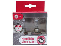 Halogenpolttimo H11 55W, (PGJ19-2) +120% Megalight Ultra (2kpl)