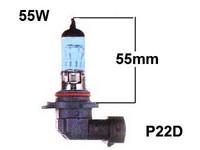 Halogenpolttimo HB4 55W, (P22d) Blue