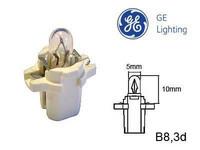 Polttimo 2W (B8.3D /9.5mm) kanta valkoinen GE