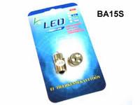 LED Polttimopari BA15s valkoinen