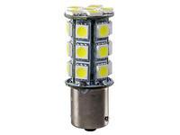 LED Polttimopari BA15s kirkas valkoinen