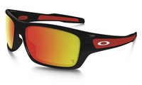 Oakley Turbine polished black, ruby iridium lens
