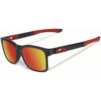 Oakley Catalyst Matte Black, ruby iridium Scuderi Ferrari lens