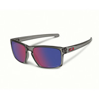Oakley Sliver grey smoke, positive red iridium polarized lens