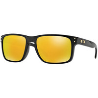 Oakley Holbrook Polished Black, 24K iridium lens