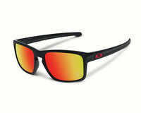 Oakley Sliver polished black, 24K iridium lens