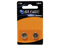 Globe Batteries Plus Alkaline LR44 1kpl