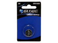 Globe Batteries Lithium CR1632 nappiparisto 1kpl