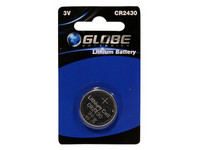 Globe Batteries Lithium CR2430 nappiparisto 1kpl