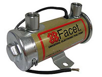 Facet 12V Red Top (tynnyrimalli), Kaasutinmoot. 240Hv asti