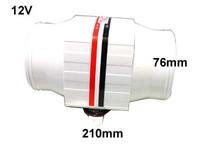 Tunnelipuhallin, 12V 4.5A, 3300ltr/min