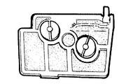 Ilmansuodatin Stihl 024