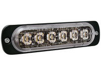 Superohut LED-tasovilkku vaaka-asennus sininen