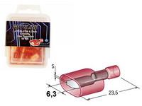 Lattaliitin uros mm.ryöstäjään, punainen, Blister, Pakkauksessa 50 kpl