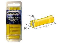 Jatkoliitin keltainen, 10kpl rasia