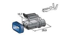 Liitinrasia SEAL 2.8 naarasliittimille (2-nap)