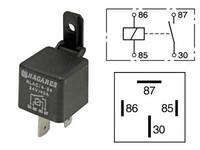 Kytkentärele 24V, 40A, 4-napainen