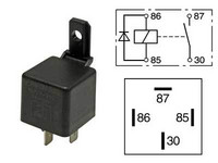 Kytkentärele 24V, 22A, 4-napainen
