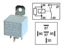Kytkentärele 5-napainen 12V 30A vastuksella