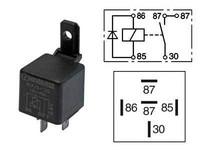 Kytkentärele 5-napainen 12V 40A diodilla