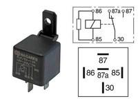 Kytkentärele 5-napainen 12V 15/40A vastuksella