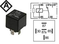 Kytkentärele 5-napainen 12V 20/30A vastuksella