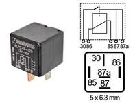 Kytkentärele 5-napainen 12V 40A