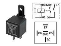 Kytkentärele 5-napainen 12V 2x20A vastuksella