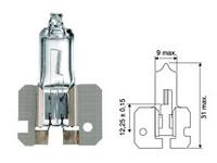 Halogenpolttimo H2 100W, (X511) 12V