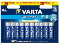 VARTA High Energy AA 20 kpl