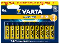 VARTA Longlife AA 10 kpl