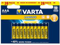 VARTA Longlife AAA 20 kpl