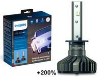 Philips LED-Ajovalopolttimopari H1 Ultinon Pro9000