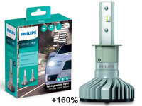 Philips LED-Ajovalopolttimopari H3 Ultinon Pro5000